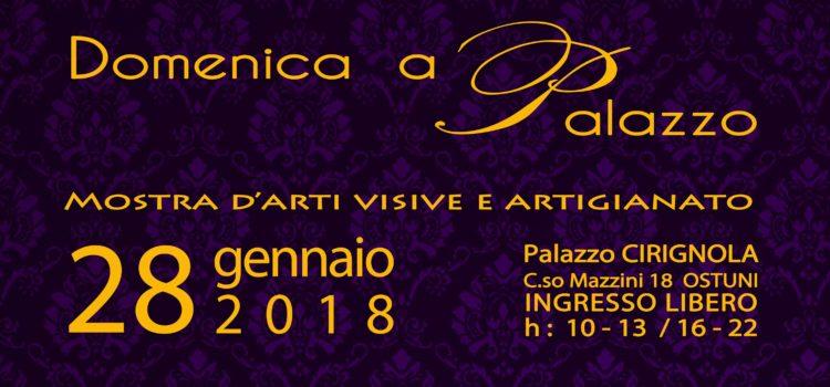 Domenica a Palazzo 28 Gennaio 2018