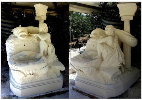 Monumento del Delfino - Angelo Lotti