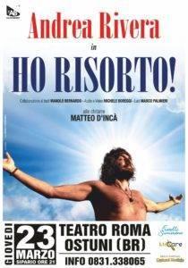 Andrea Rivera comico a Ostuni