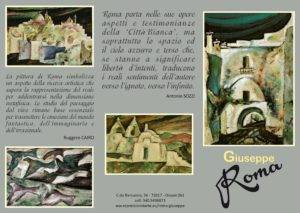Pieghevole esterno Roma Giuseppe