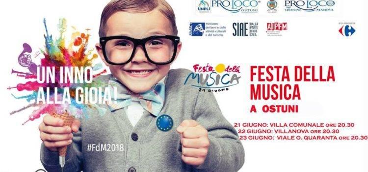 festa della musica 2018 Ostuni