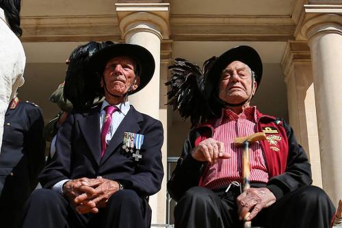 bersaglieri centenari